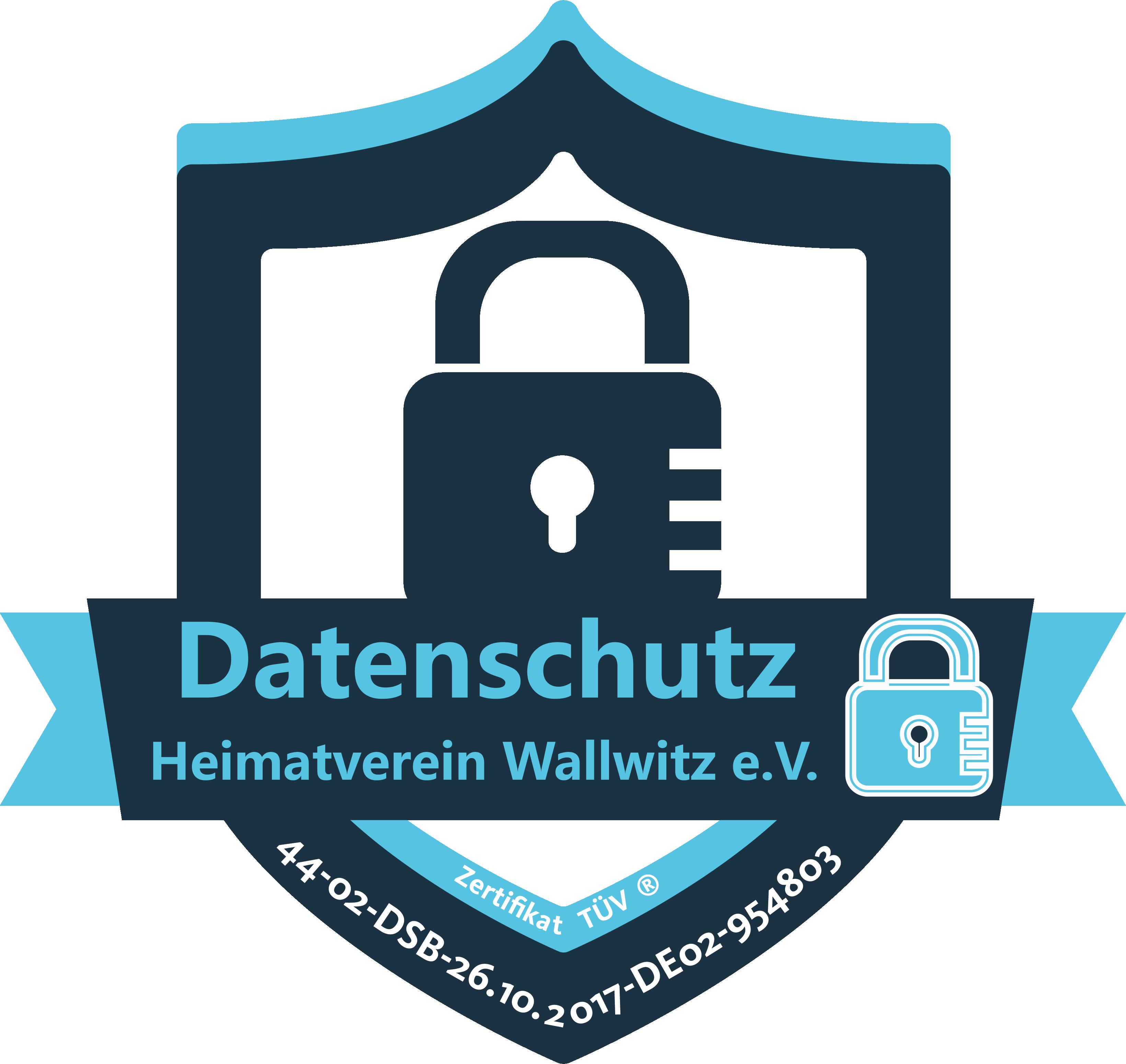 Logo Datenschutz Heimatverein